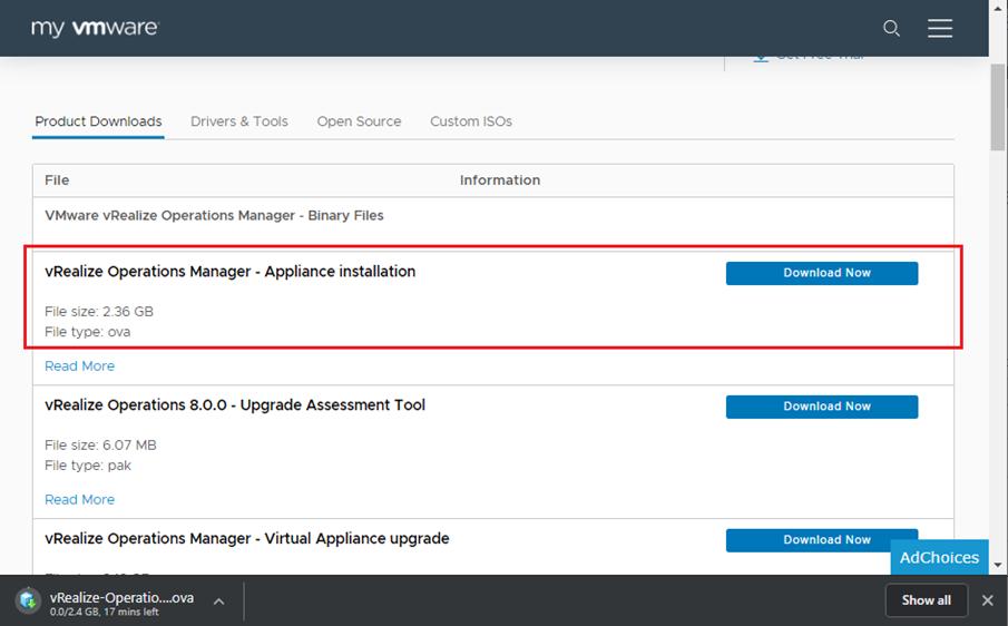 VMware vRealize Operations (vROPS) Kurulumu