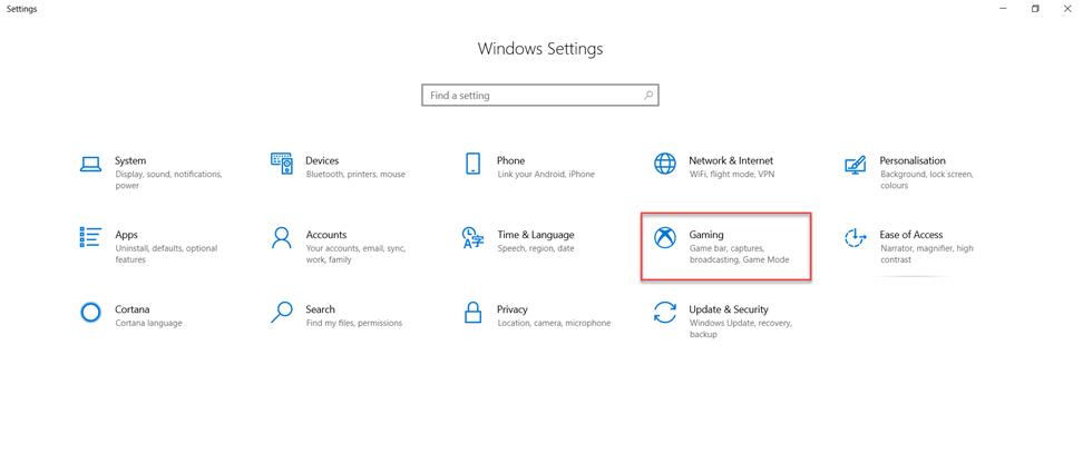 Windows 10 Game Bar Nasıl Konfigüre Edilir